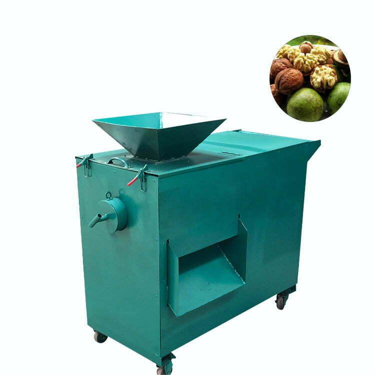 green walnut skin peeling machine