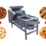 nut shelling and cracking machine
