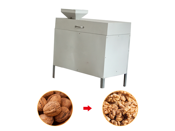 walnut cracking machine