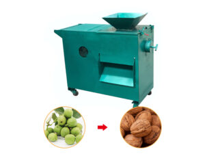 green walnut skin peeling machine