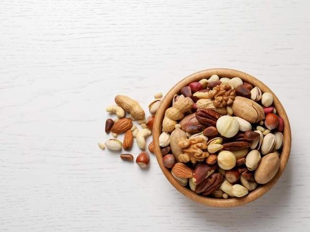 different kinds of nut