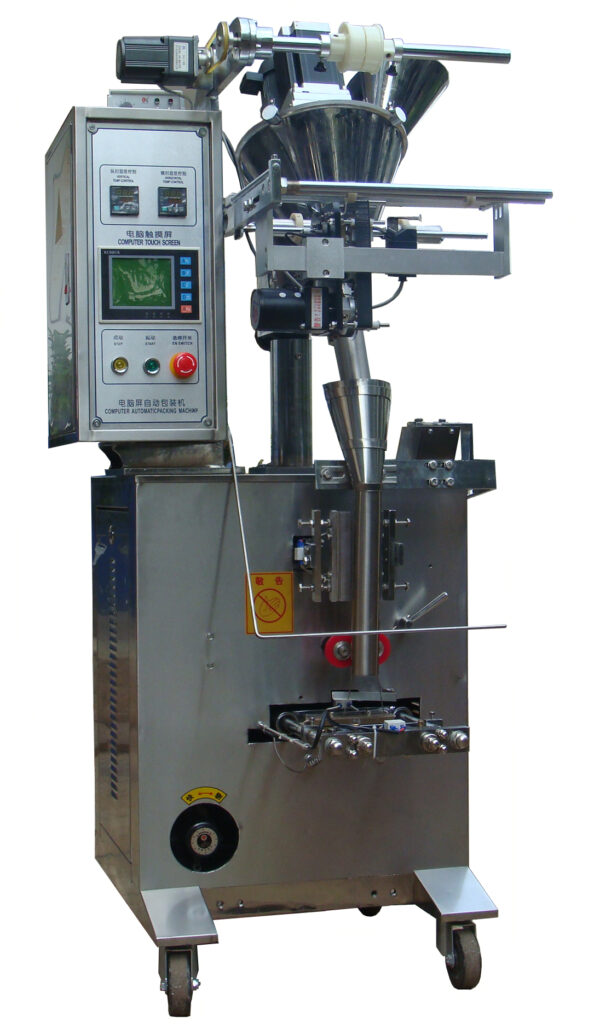 Packaging machine details picture