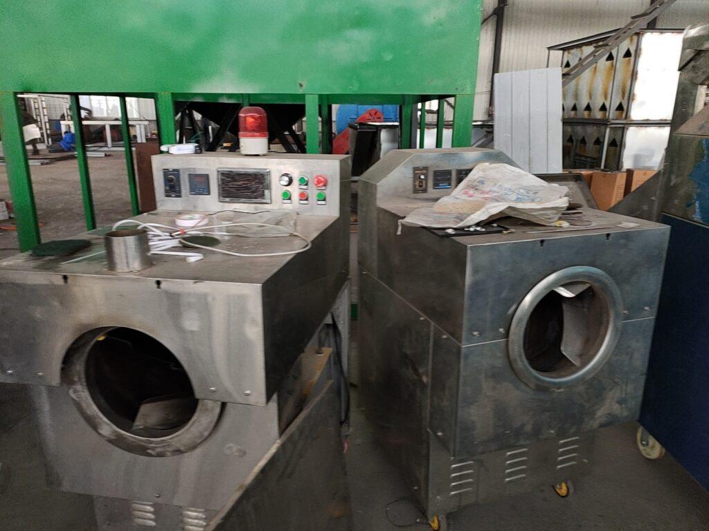 Electromagnetic roasting machine