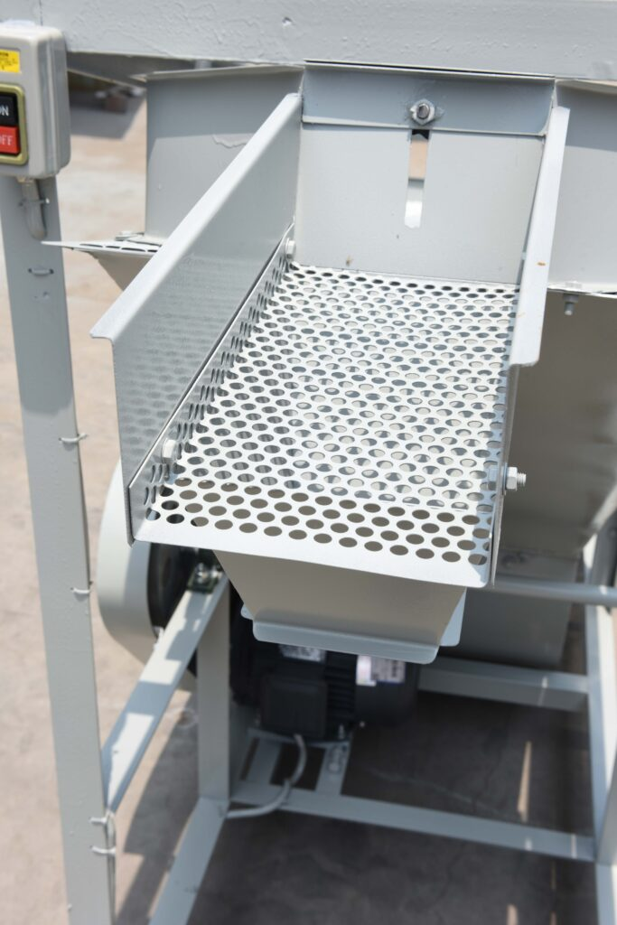 detail picture of the separator