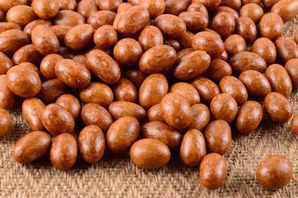 fried flour-coated peanut