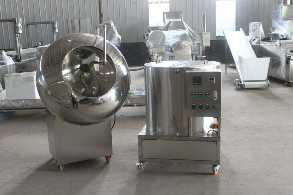 peanut flour coating machine