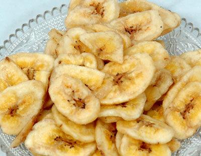 Dehydrated banana slice
