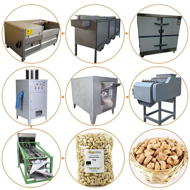 Cashew production line